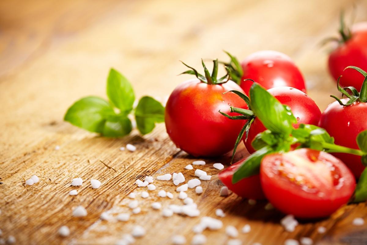 Помидоры богаты витамином С