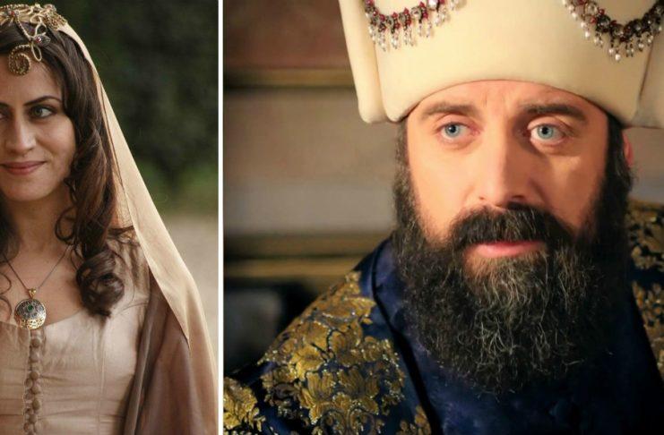 Гюльфем Хатун и султан Сулейман