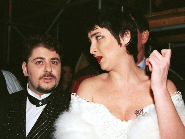 Александр Цекало во времена дуэта «Академия» с Лолитой Милявской, артисты были женаты