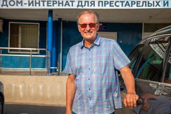 Федор Добронравов в доме престарелых