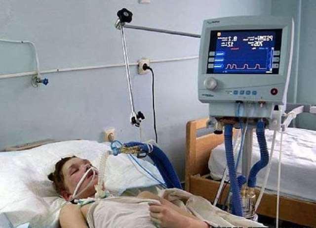 Маша Кончаловская во французской больнице