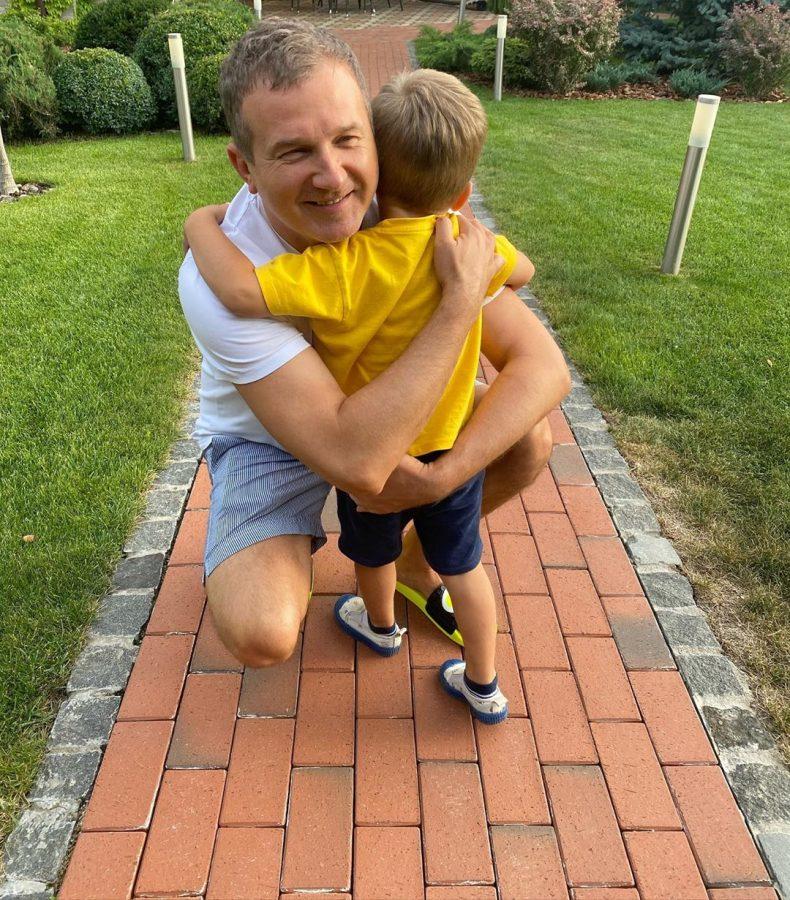 Горбунов с сыном