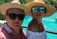 Катя Осадчая с Юрием Горбуновым в этом году отдыхают в Турции