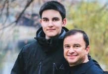 Павло Павлік з батьком Віктором