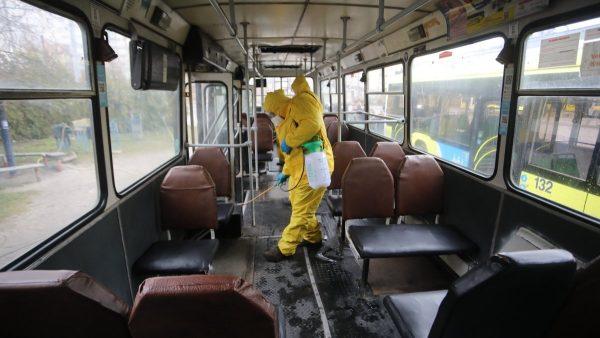 Дезинфекция общественного транспорта