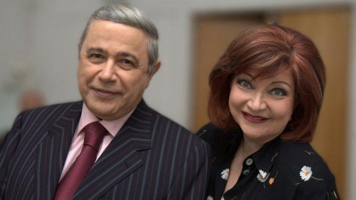 Євген Петросян і Олена Степаненко