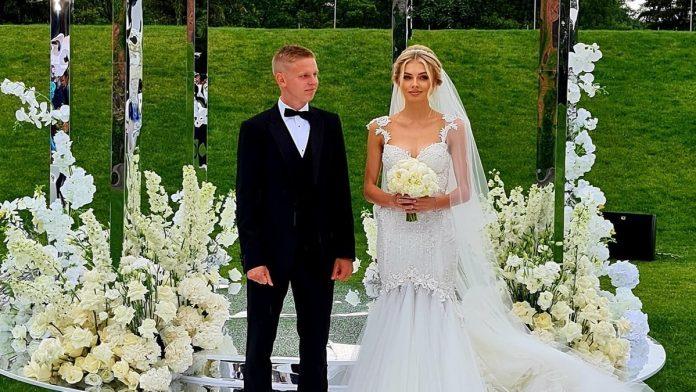 Весілля Олександра Зінченка і Влади Седан