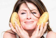 Маски для обличчя з картфеля