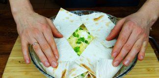 Йоко - блюдо из лаваша