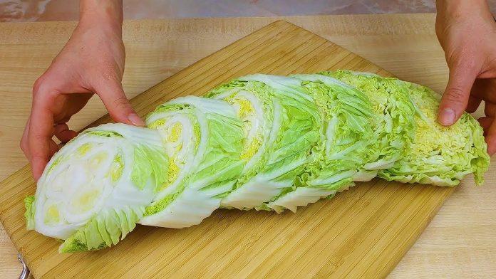 Блюдо з пекінської капусти