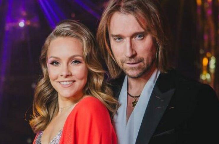 Олег Винник и Алена Шоптенко вышли на паркет в первом эфире