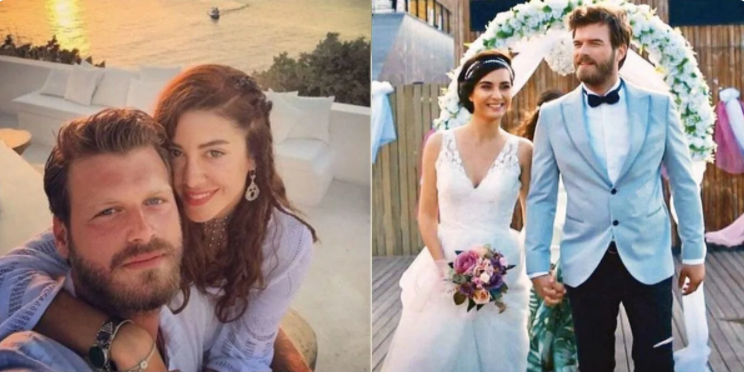 Кыванч женился на стилисте Башак Дизер