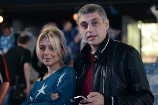 Тина Кароль с покойным мужем Евгением Огиром