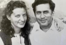 Марина Порошенко з батьком Анатолієм Переведенцева
