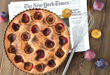 Рецепт пирога зі сливами