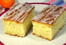 Ніжний сирний пиріг