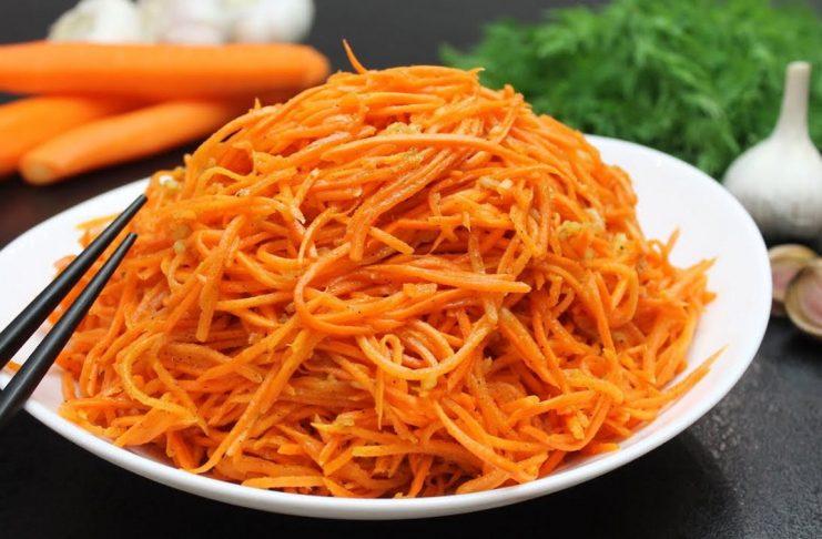 Морковь по-корейски за 5 минут