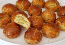 Турецькі булочки з сиром фета і зеленню