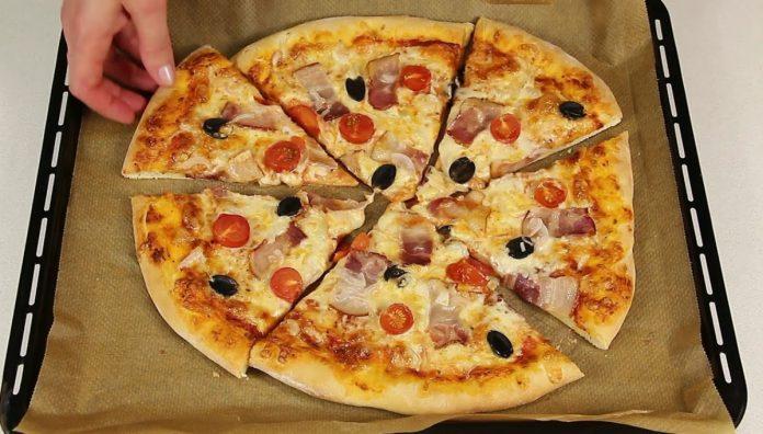 Нескладний рецепт домашньої піци