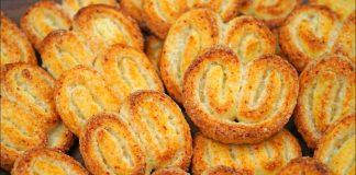 Печенье «Ушки» из творожного теста