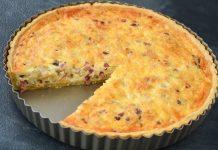 Французький відкритий пиріг кіш Лорен