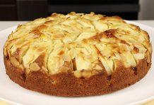 Яблучний пиріг з арахісом