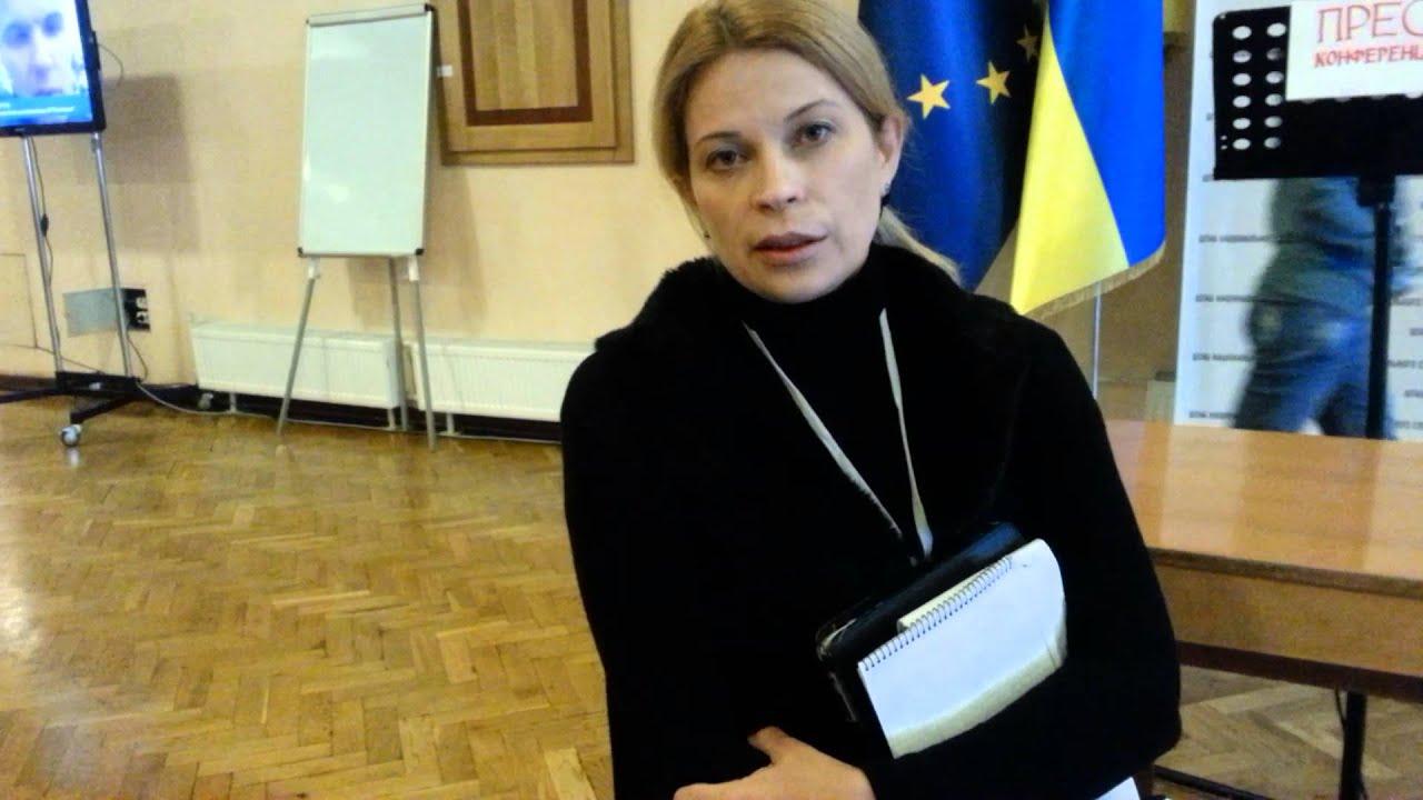 Марина Сорока, пресс-секретарь Юлии Тимошенко
