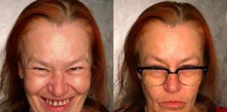 Женщина с редкими зубами превратилась в богиню