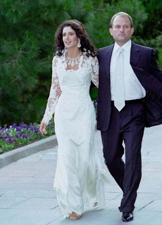 Весілля Оксани Марченко і Віктора Медведчука