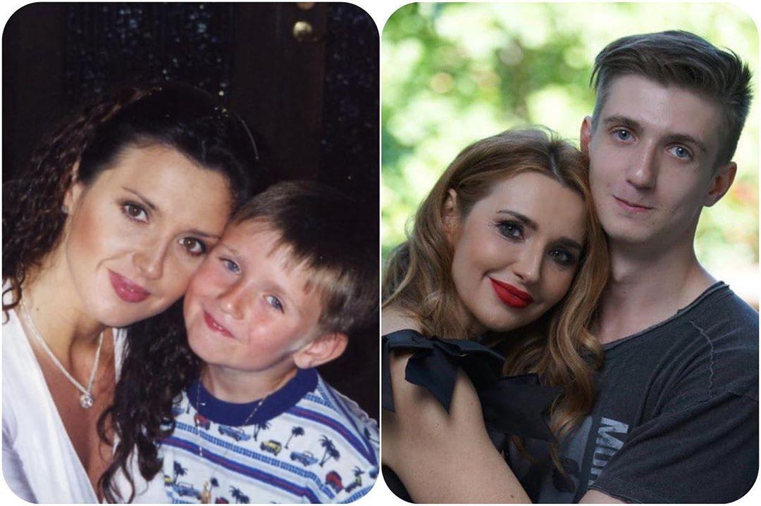 Оксана Марченко з сином