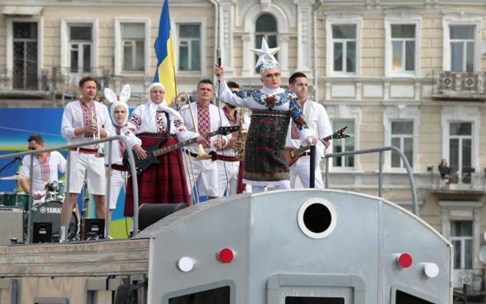 Вєрка Сердючка на концерті до Дня незалежності