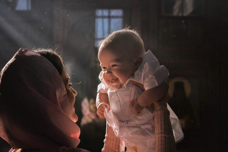 Благословение малыша