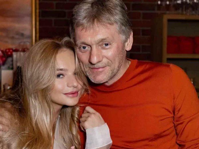 Елизавета Пескова и ее отец Дмитрий Песков