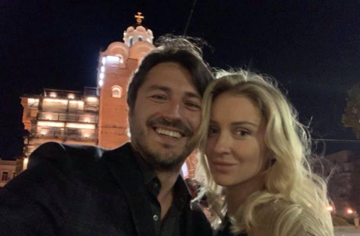 Сергій Притула привітав дружину з річницею весілля