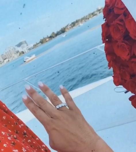 Помолвочное кольцо Анны