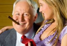 Старий чоловік і молода дружина - мода повертається