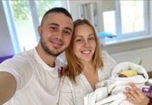 Тарас Тополя та Олена Кучер стали батьками втретє