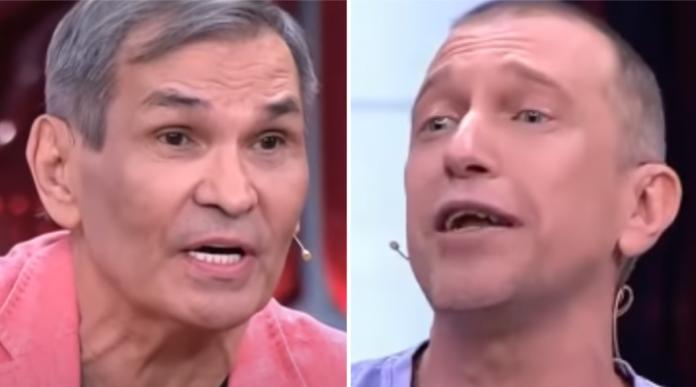 Баррі Алібасов і Сергій Сосєдов на шоу у Малахова