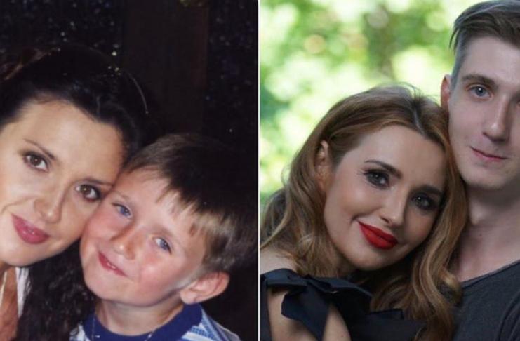 Оксана Марченко с сыном