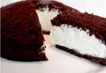 Шоколадно-йогуртовий торт без випічки