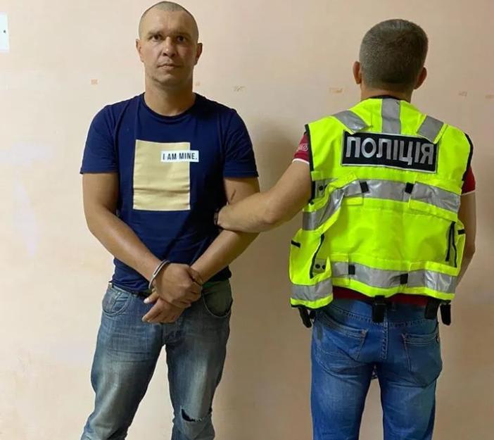 Задержанный Виталий Рудзько