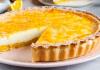 Творожно-апельсиновый пирог