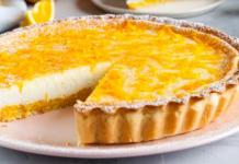 Сирно-апельсиновий пиріг
