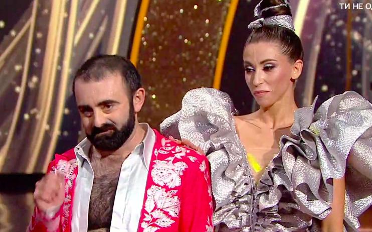 Арам Арзуманян в Танцах со звездами 4 на 1+1 первый эфир