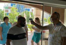 Отдых в Турции начинается с измерения температуры