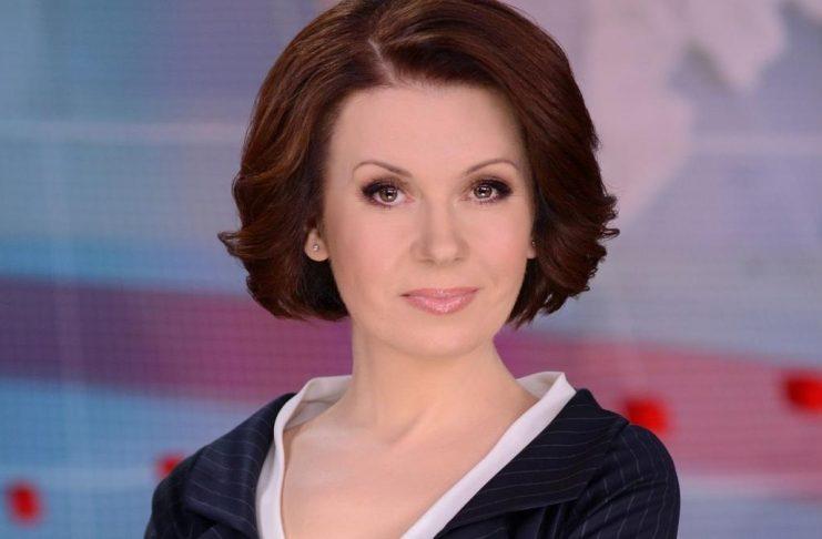 Алла Мазур на телеканале 1+1 вела новости одновременно с химиотерапией