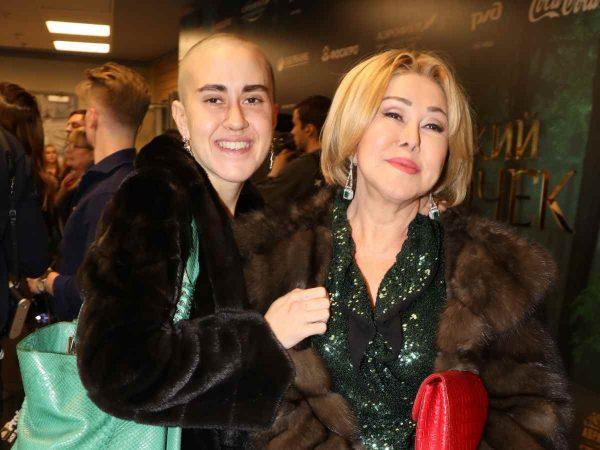 Любов Успенська і її дочка Тетяна Плаксина