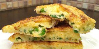 Хрустящие сырные лепешки на завтрак