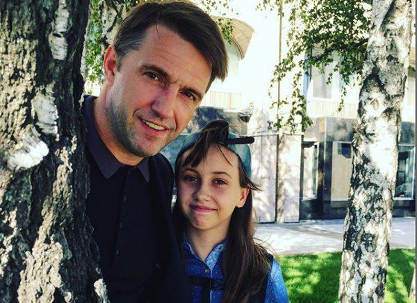 Дочка Володимира Вдовиченкова