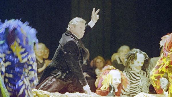Віталій Соломін в своєму останньому спектаклі